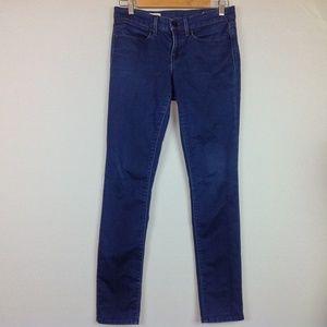 Gap Skinny Jeans Womens 4 Dark Blue